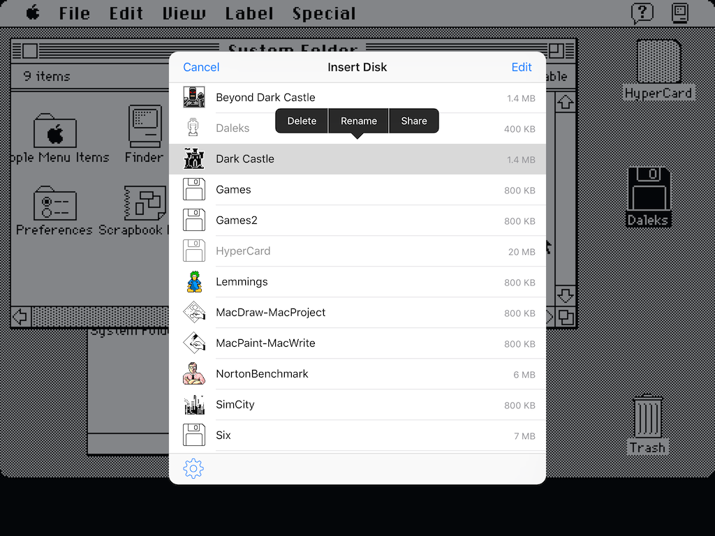 Mini vMac for iOS · namedfork net